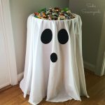MOM Tip: DIY Halloween Candy Stand