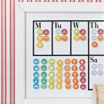 DIY Magnetic Chore Chart (with a FREE printable!)