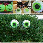 MOM Tip: Halloween Spooky Bush Eyes