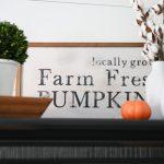 Make It  –  Wood Pumpkin Sign