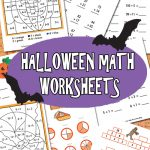 Free Halloween Math Worksheet Printables
