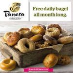 Free  Panera Bagel  Everyday in October