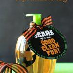 Free Pumpkin Soap Gift Idea and Printable