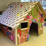 Life Size Gingerbread House Turned Playhouse