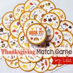 Thanksgiving Seek It,  Spot It, Match It Game
