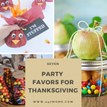 7 Party Favors for Thanksgiving
