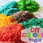 MOM Tip: DIY Colored Sugar