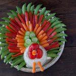 MOM Tip: Thanksgiving Turkey Veggie Tray