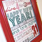 FREE New Years Eve Art Printable