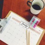 6 FREE Printable 2017 Calendars