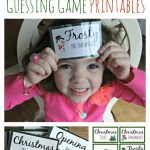 Free Christmas Guessing Game Printables