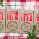Free Christmas Utensil Holder Printable