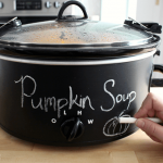 Easy Crock Pot Make Over (Chalkboard Fun)
