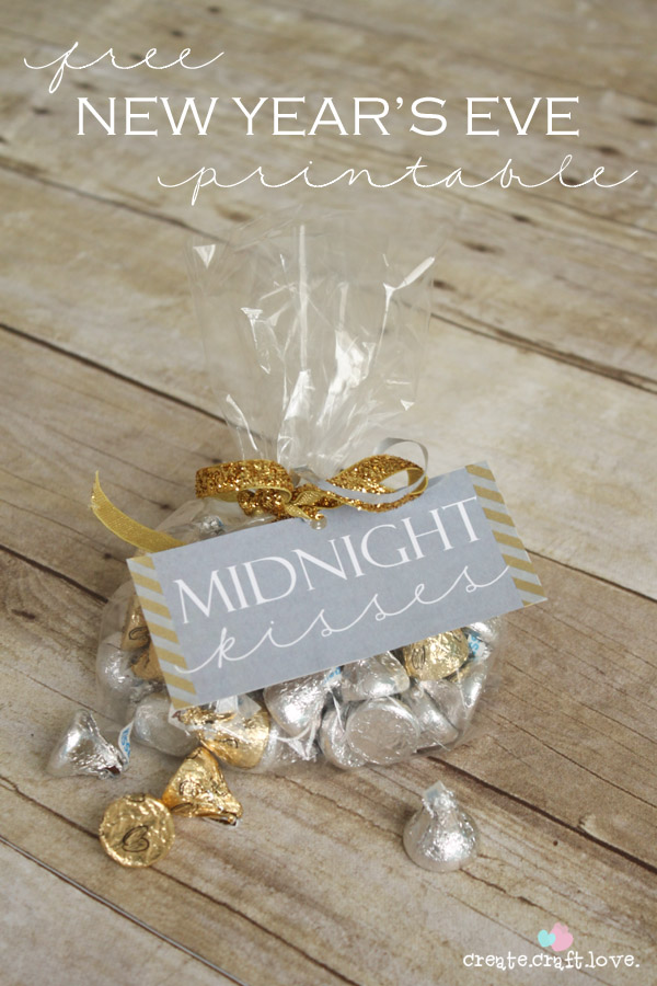 free new years eve printable party favor idea