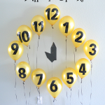 MOM Tip: New Year's Eve Balloon Clock Countdown