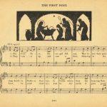 Free Antique Christmas Music Printables