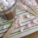 MOM Tip: DIY White Chocolate Peppermint Stir Sticks