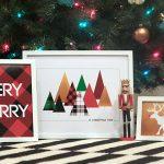 Free Modern Christmas Printables