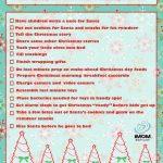 Mom's Christmas Eve Checklist Printable