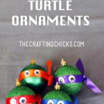 MOM Tip: DIY Ninja Turtle Ornaments