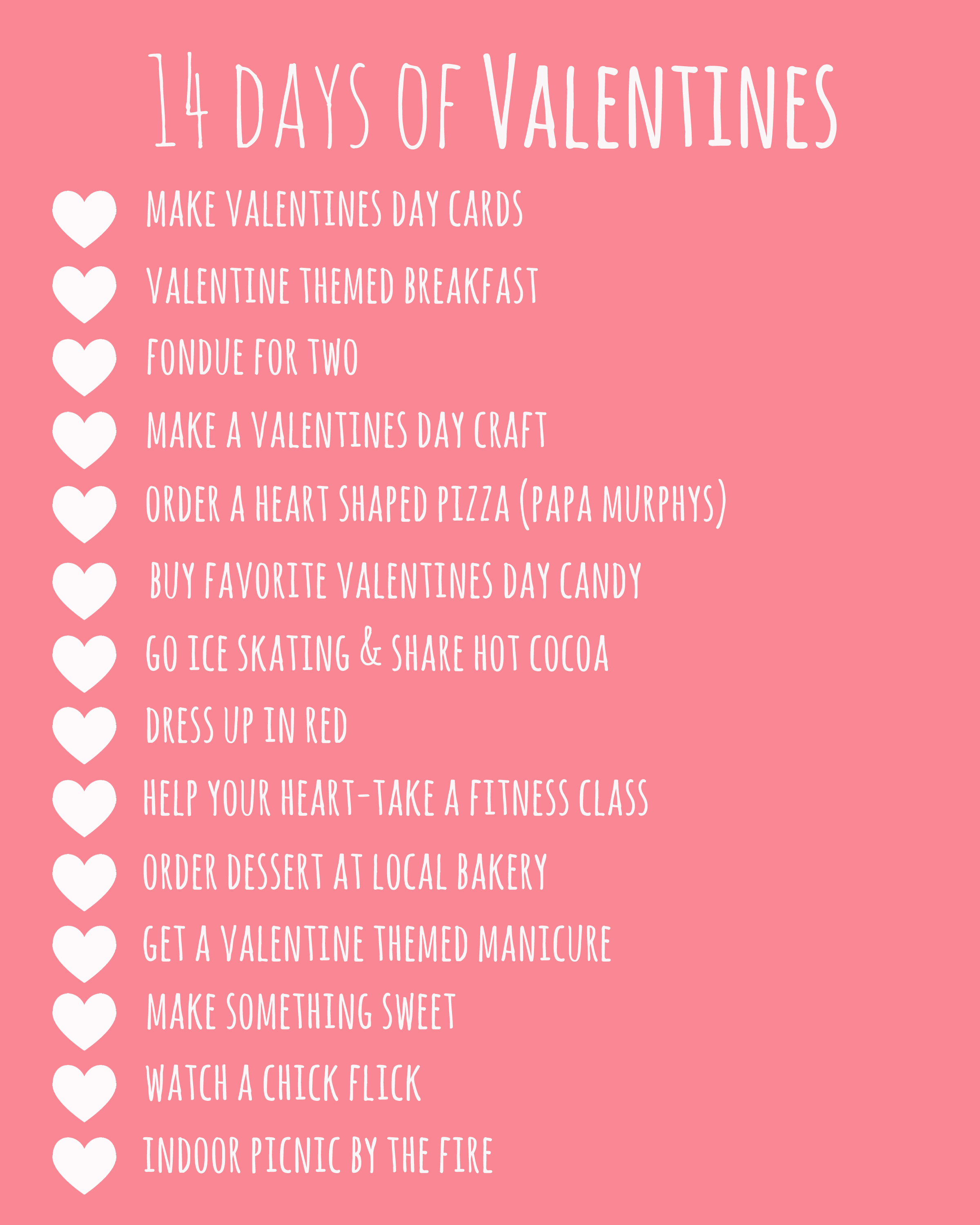 Boyfriend Quotes For Valentines Day: 14 Days Of Valentines Printable