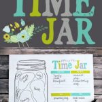 Free Filling the Time Jar Printable
