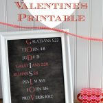 Free God Is Love Valentine's Day Printable
