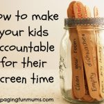 MOM Tip: How to Make Kids Accountable For Their Screen Time