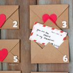 Rustic Valentine's Day Countdown (with free printable)