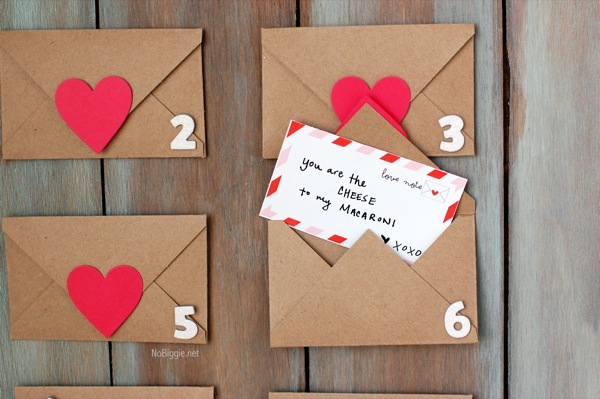 rustic valentine's day countdown (with free printable) - 24/7 moms, Ideas
