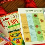 Free Busy Bingo Printable