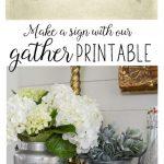 Free Gather Printable