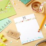 MOM Tip: How to Make DIY Stationery and Stamps
