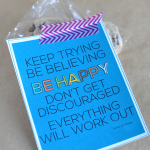 Free Encouragement Quote Card Printables