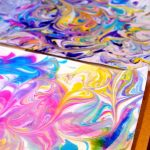 MOM Tip: DIY Marbled Paper from Shaving Cream
