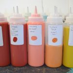 MOM Tip: Store Paint in Squeeze Bottles