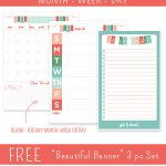 Get Organized with FREE To Do List Printables