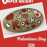 MOM Tip: DIY Valentines Paper Weight