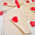 MOM Tip: DIY Valentine Fabric Envelopes