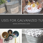 10 Uses For Galvanized Tubs