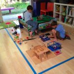 "MOM Tip: Create a ""Toy Zone"" with Painter's Tape"