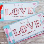 Free Love Coupon Book Printable