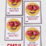 Free Emoji Valentine Printables