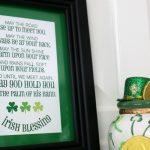 Free Irish Blessing Subway Art Printable