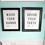 Free Bathroom Sign Printables