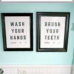 Free Bathroom Sign Printables