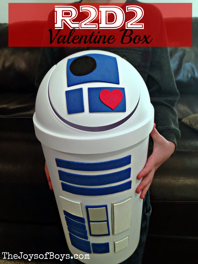 star wars r2d2 by the joys of boys valentine box ideas for school