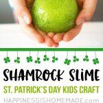 MOM Tip: DIY Shamrock Slime