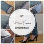 DIY: Hem Jeans Fast & Easy