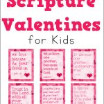 Free Scripture Valentines for Kids